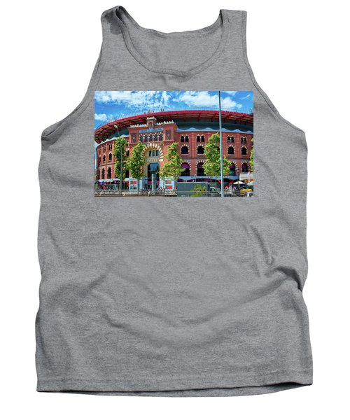 Bullring In Barcelona Tank Top