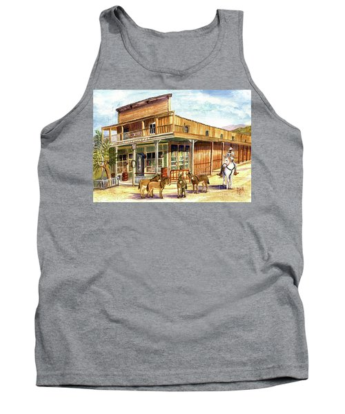 Burros Are Back In Town Tank Top