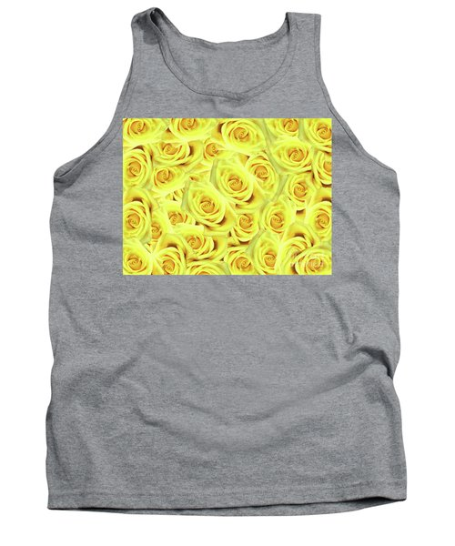 Candlelight Roses Tank Top