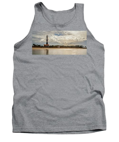 Cape Lookout Lighthouse No. 3 Tank Top