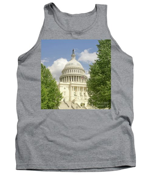 Capitol Building Washington Dc 2  Tank Top