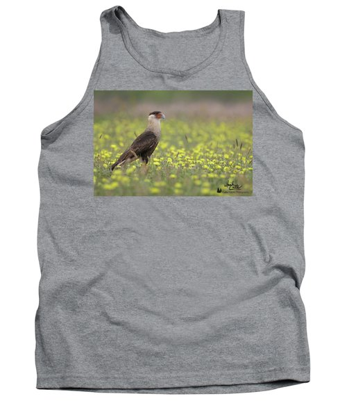 Caracara In Spring Tank Top