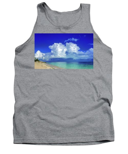 Caribbean Clouds Tank Top