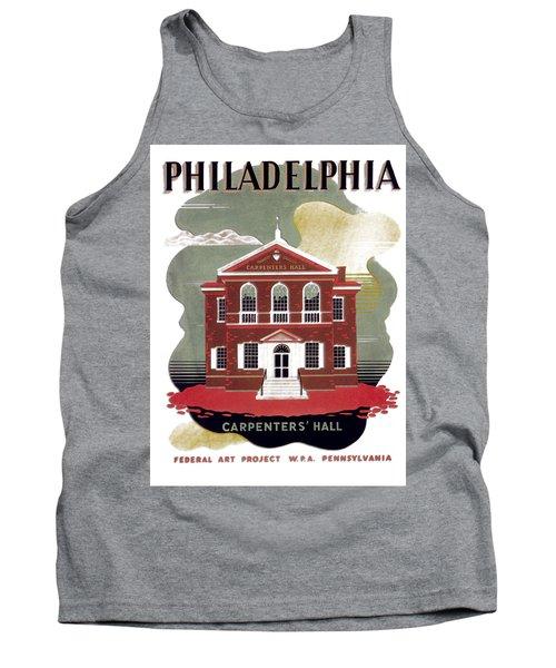 Carpenter Hall - Philadelphia - Remastered Tank Top