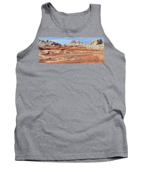 Carved In Stone Pano 2 Tank Top