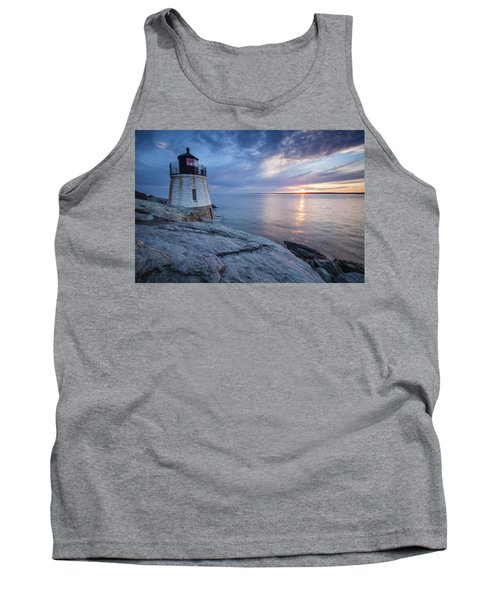 Castle Hill Light Sunset Tank Top