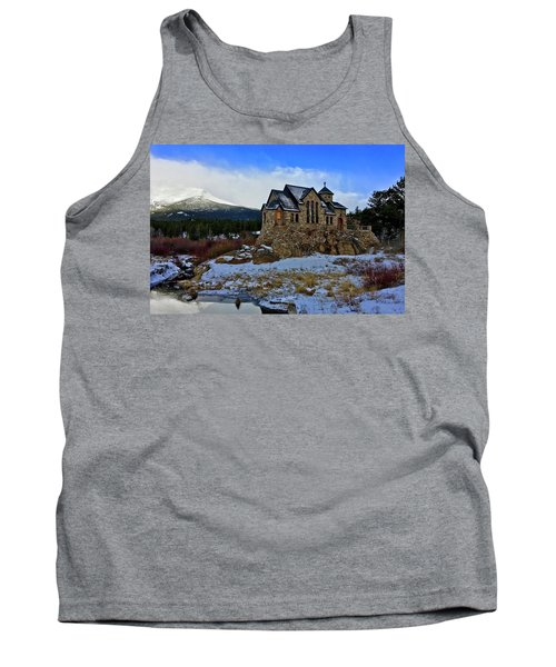 Tank Top featuring the photograph Chapel On The Rock by Dan Miller