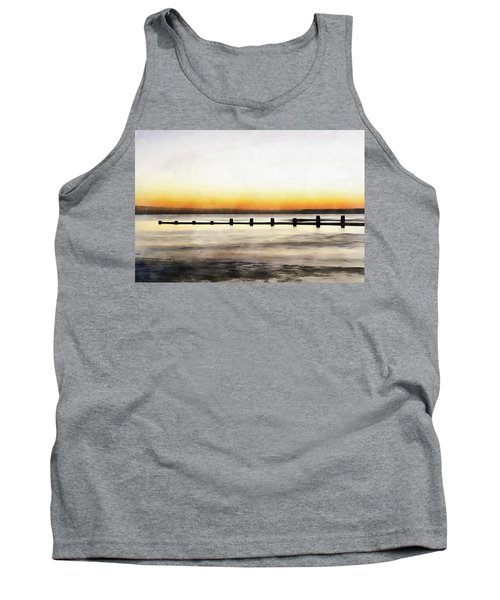 Tank Top featuring the painting Chesapeake by Harry Warrick