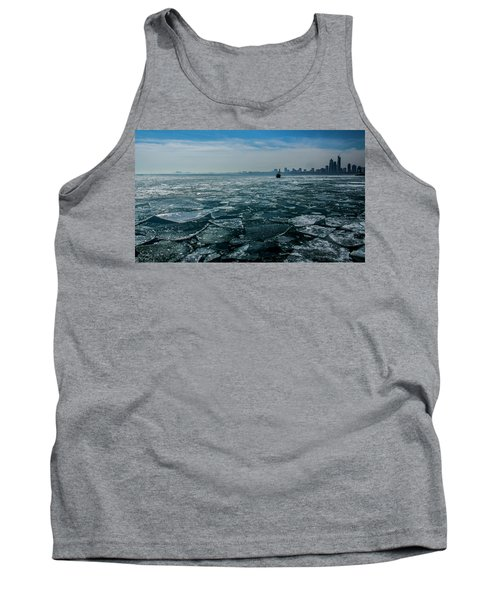 Chicago In Winter Tank Top