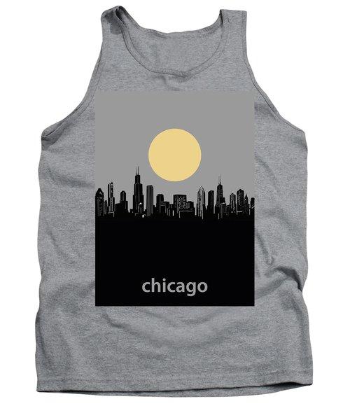 Chicago Skyline Minimalism 2 Tank Top