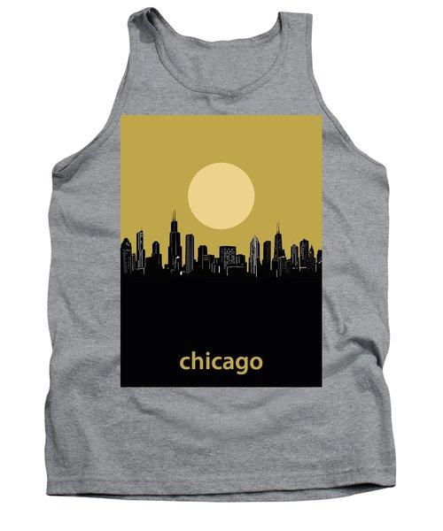 Chicago Skyline Minimalism 5 Tank Top