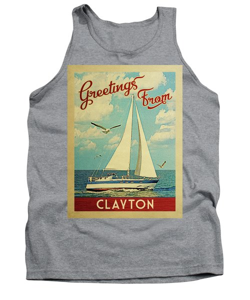 Clayton Sailboat Vintage Travel Tank Top