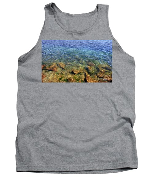 Clear Water At Morro Bay Tank Top