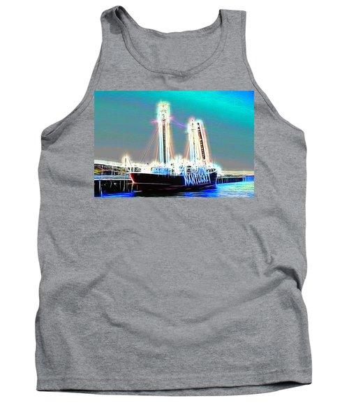 Cold Ghost Ship Tank Top