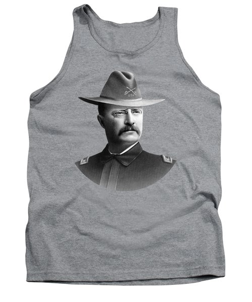 Colonel Teddy Roosevelt - Rough Riders Tank Top