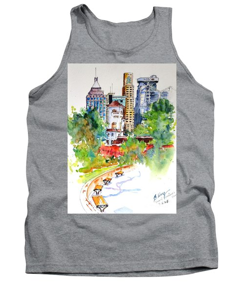 Colonial Vs The Modern In Hong Kong Tank Top
