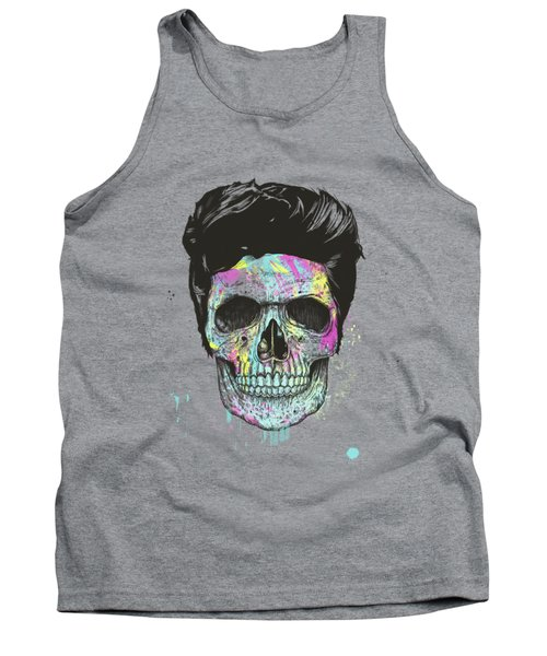 Color Your Skull Tank Top
