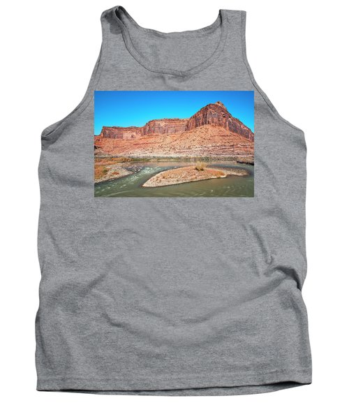 Tank Top featuring the photograph Colorado River At Salt Wash by Andy Crawford