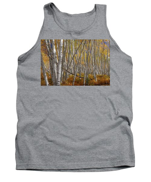 Tank Top featuring the photograph Colorful Stick Forest by James BO Insogna