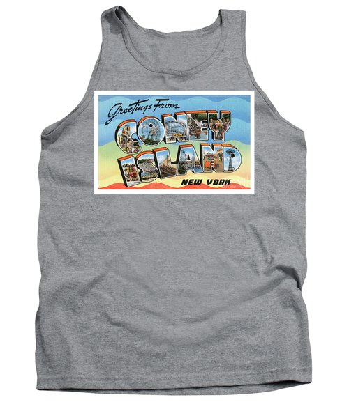 Coney Island Greetings - Version 2 Tank Top