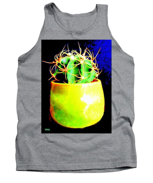 Contemporary Cactus Tank Top