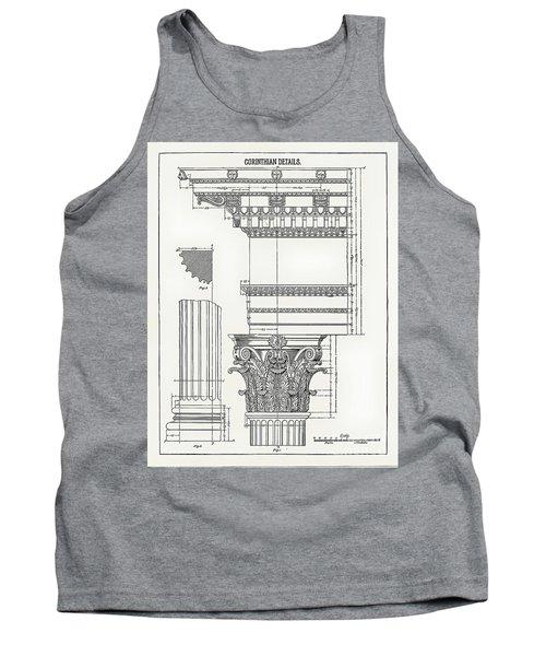 Corinthian Architecture Tank Top