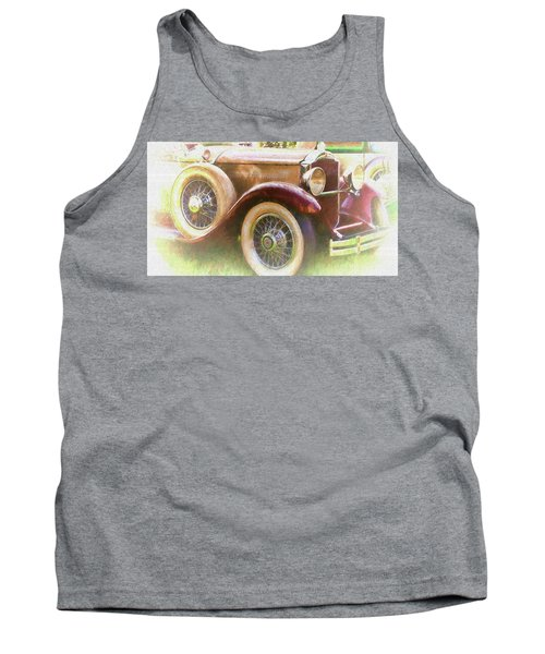 Cruise Into Tomorrow With Yesterday's Wheels Tank Top