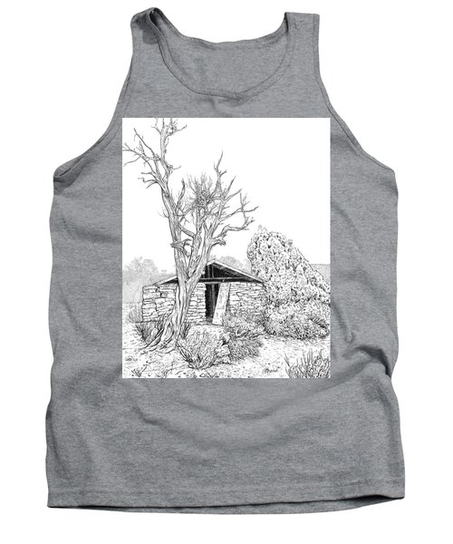 Decay Of Calamity The Half Life Of A Dream Black And White  Tank Top