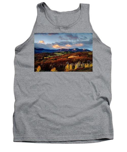 Dramatic Sunrise In The San Juan Mountains Of Colorado Tank Top