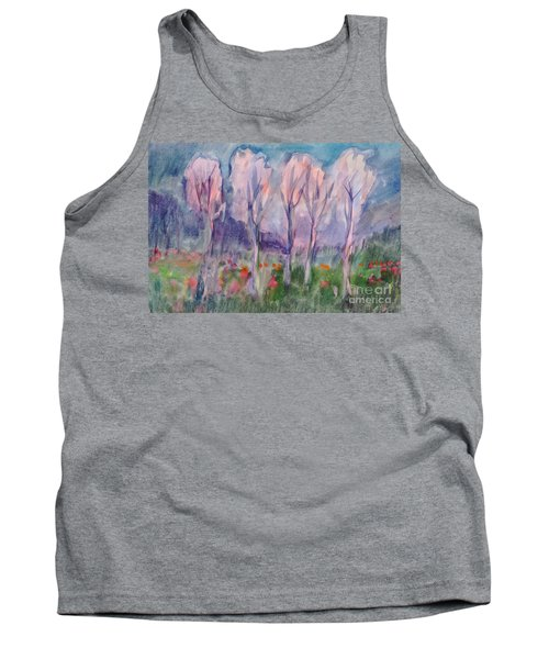 Early Morning In The Forest Tank Top