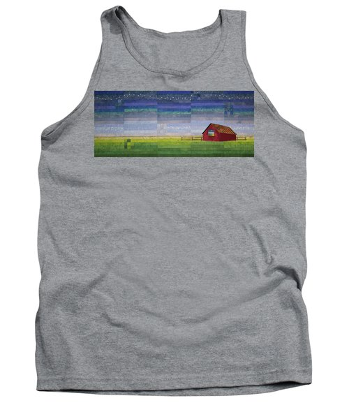 Early Morning Nine Patch Tank Top