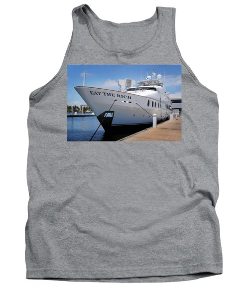 Eat The Rich Yacht Tank Top