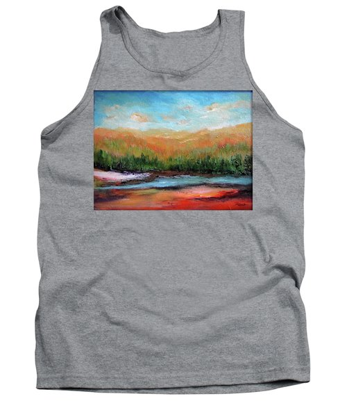 Edged Habitat Tank Top