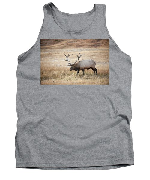 Elk In Yellowstone National Park Tank Top