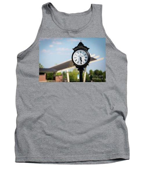 Evans Towne Center Park Clock - Evans Ga Tank Top