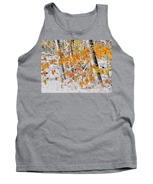 Fall And Snow Tank Top