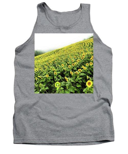Fields Of Yellow Tank Top