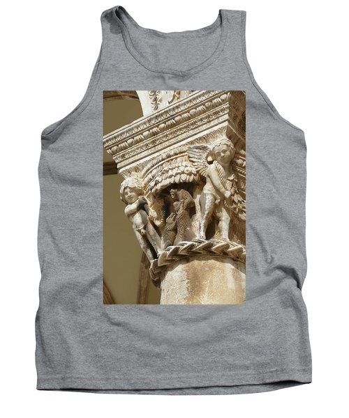 Figures On Capitals Of The Rector's Palace Tank Top