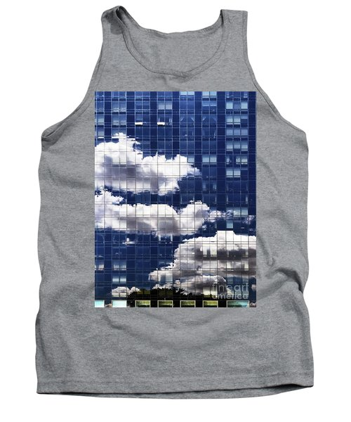 Tank Top featuring the photograph First Avenue Reflections by Rick Locke