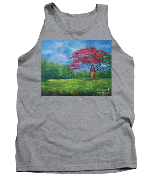 Flame Tree Tank Top