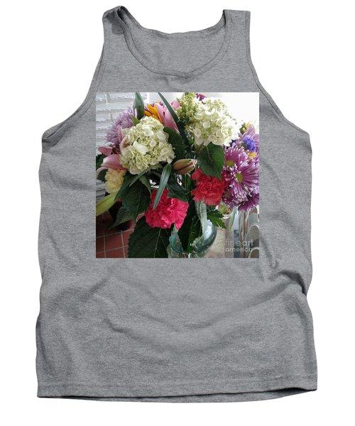 Floral Bouquet Tank Top