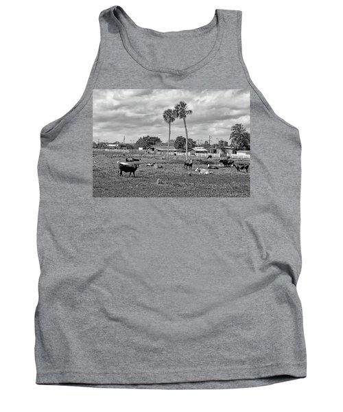 Florida Farmscape Tank Top