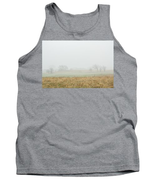 Foggy Country Morning Tank Top