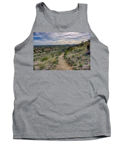 Following The Desert Path Tank Top