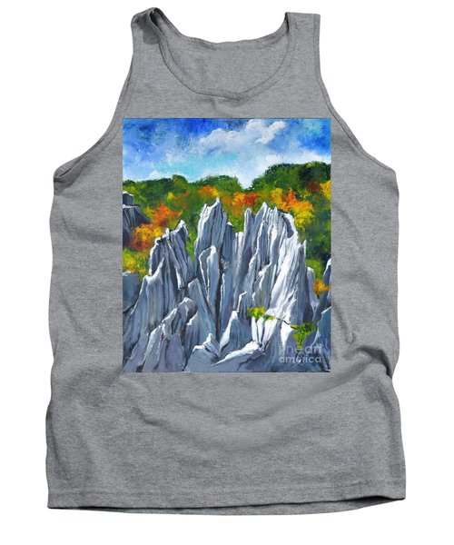 Forest Of Stones Tank Top