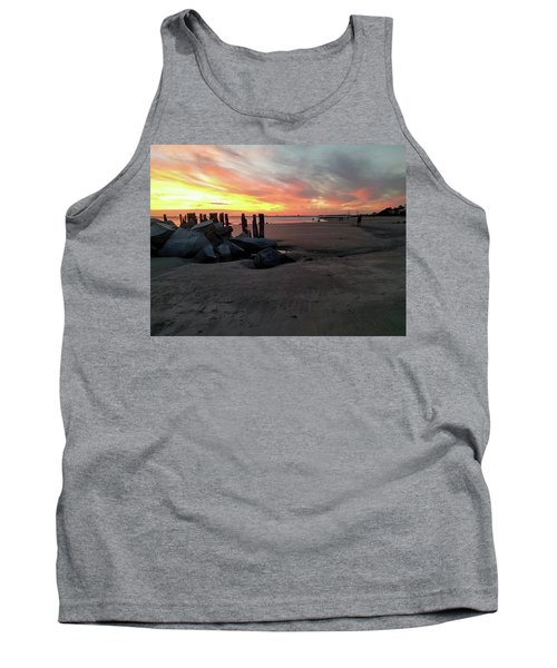 Fort Moultrie Sunset Tank Top