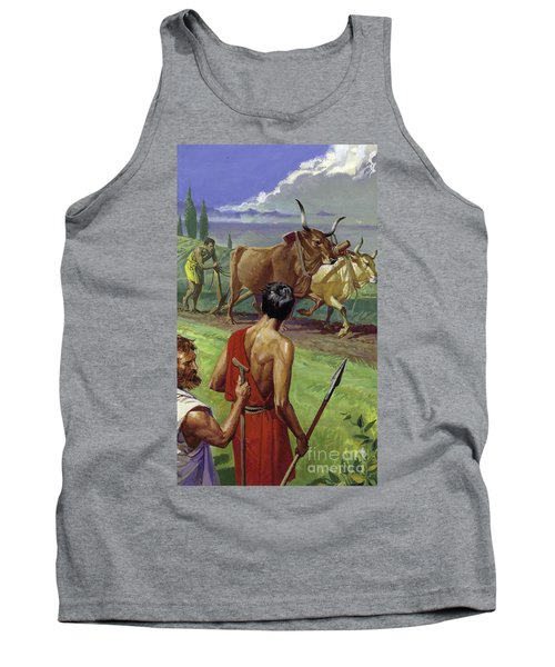 Foundation Of Rome Tank Top