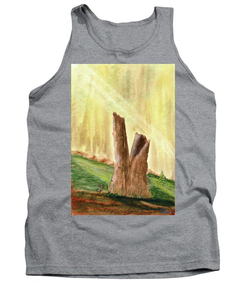From Ruins Comes New Life Tank Top