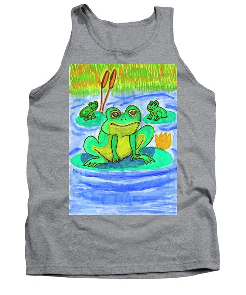 Funny Frogs Tank Top