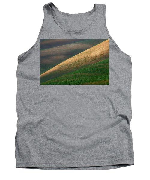 Geometric Field Abstract Tank Top
